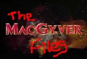 You. Me. We all need MacGyver in our lives.