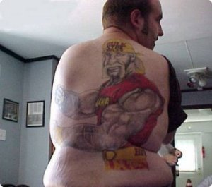 Your tattoo artist hates you, brother!