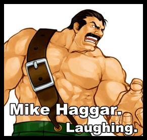 Haggarlaughing